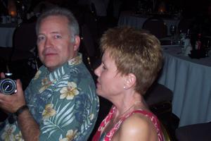 Bernie Knotts and Elaine (Huffman) Cabanyog