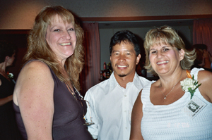 Maggie, Karl Hamasu (Cindy's Husband), and Cindy