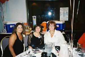 Susan, Anne and Kim