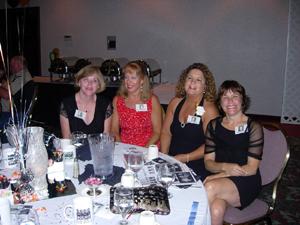 Annette, Kim, Susan, and Anne