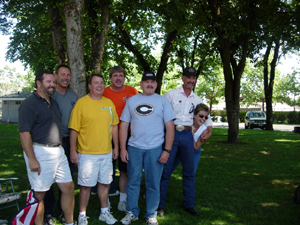 David Curry, Tom Smurzynski, Jim, Reggie McShane, Dan, Rick Smith, and Jeri