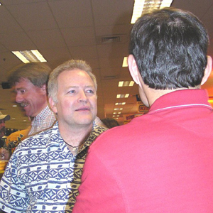 Reg, Bernie, and Brian