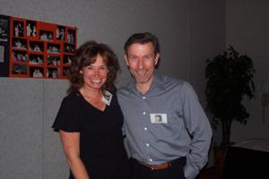 Becky Watkins and Rocky Rawstern