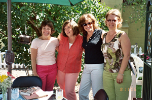 Anne, Pamela, Becky, and Carol