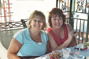 Cindy and Lori