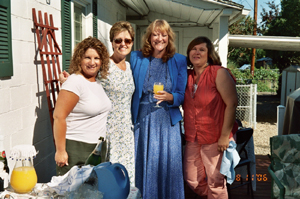 Susan, Jeri, Maggie, and Pamela