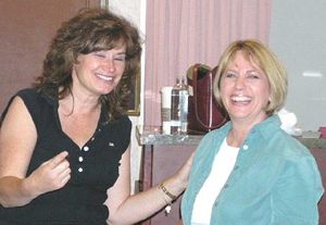 Becky and Denise (Davis) Botswick