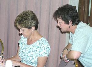 Jeri and Mary