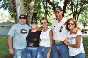 Dan, Cindy, Jeri, Rick, and Kathy