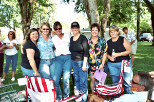 Pamela, Carol, Becky, Cindy, Mary, and Cindy