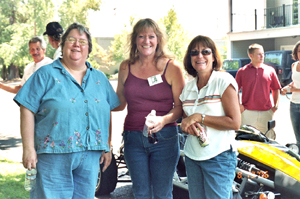 Ilene, Maggie, and Kathy