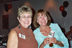 Terri and Kathy