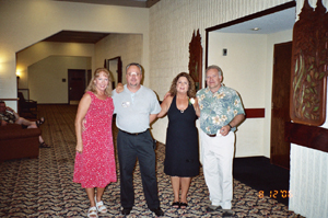 Kim, Mike, Susan, and Bernie