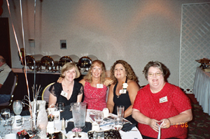 Annette, Kim, Susan, and Ilene